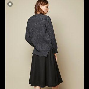 Achro Sweaters - Achro Chunky Knit Round Neck Sweater